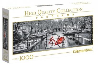 Puzle Clementoni Panorama High Quality Amsterdam Bicycle 39440, 1000 gab.
