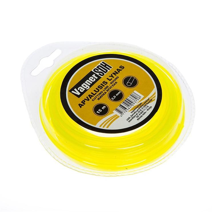 Vagner Trimmer Line 2mm 15m Round Yellow