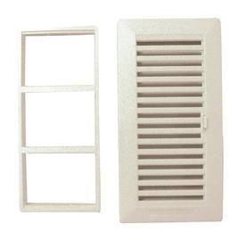 Ventilācijas reste ar žalūzijām 020121 14x27cm, balta