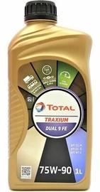 Масло для трансмиссии Total Traxium Dual 9 FE 75W - 90, для трансмиссии, для легкового автомобиля, 1 л