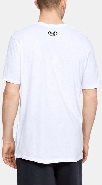 Футболка Under Armour GL Foundation T-Shirt 1326849-100 White XXL