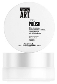 Plaukų želė L`Oréal Professionnel Tecni Art Fix Polish Wax In Gel, 75 ml