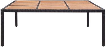 Садовый стол VLX Garden Table 46136, коричневый/черный