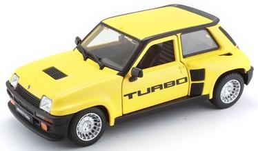 Bburago Car Renault 5 Turbo 1:24 18-21088 Yellow