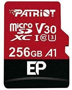 Patriot Memory EP Pro 256GB MicroSDXC Class 10 U3