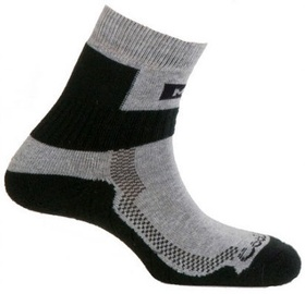 Zeķes Mund Socks Nordic Walking Black, L, 1 gab.