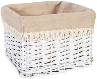 Home4you Max-2 Basket 22x22xH15cm White