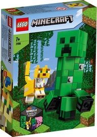 Konstruktorius LEGO Minecraft BigFig Creeper And Ocelot 21156