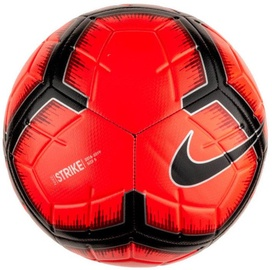 Nike Strike Soccer Ball Red/Black Size 5