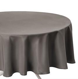 Staltiesė, apvali, ruda, 180 cm