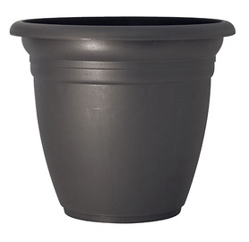 Plastic pot DOMOLETTI, TE000050-120, Ø 50 cm, anthracite