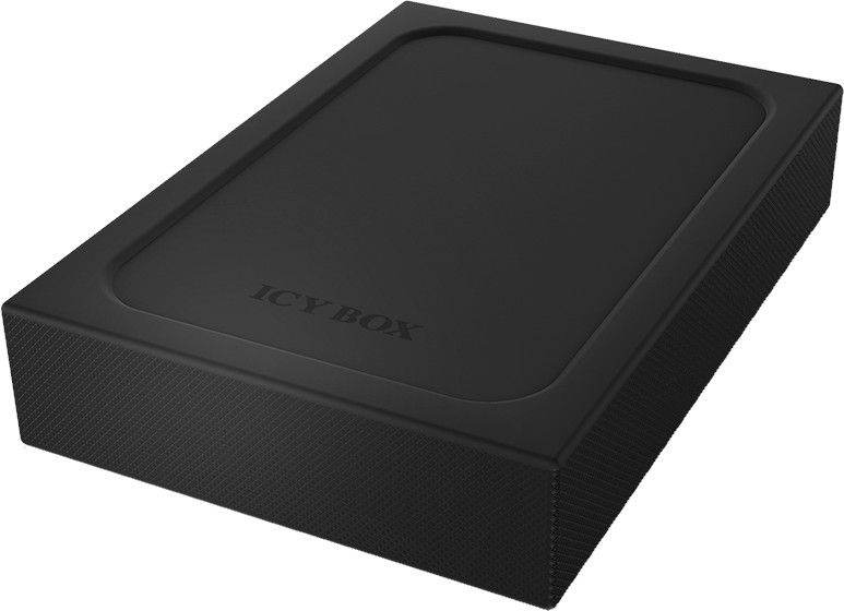"""ICY BOX External Enclosure 2.5"""" HDD/SSD USB 3.0 w/ Write-Protection-Switch"""