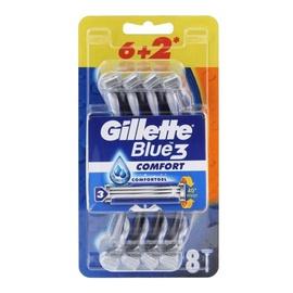 Vienkartiniai skustuvai Gillette Blue 3, 8 vnt.
