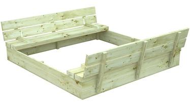 Smilšu kaste 4IQ, 157x157 cm