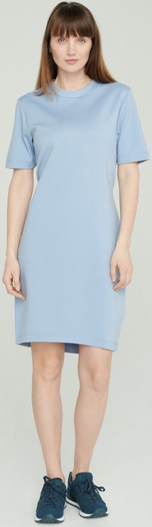 Audimas Stretch Short Sleeves Dress Blue XL