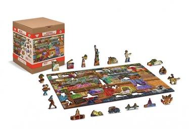 3D пазл Wooden City Candy adventures L, 400 шт.