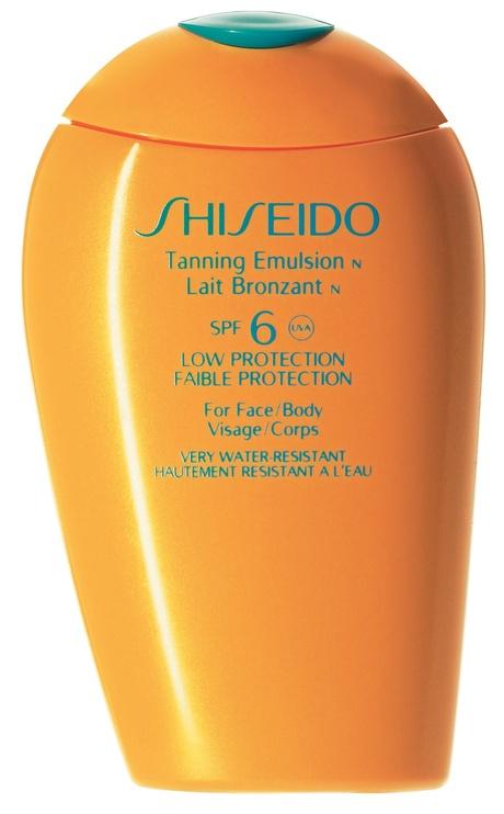 Shiseido Sun Care Tanning Emulsion SPF6 150ml