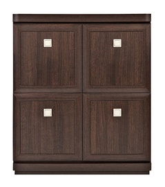 Black Red White Oregon KOM4D Cabinet Canterbury Oak