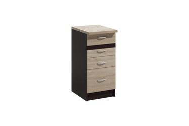 Нижний кухонный шкаф WIPMEB Livia LV-13/D40 S4 Sonoma Oak, 400x445x820 мм