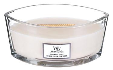 Ароматическая свеча WoodWick Coconut & Tonka, 40 час