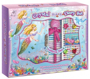Pulio Pecoware Crystal Style Up Diary Set 191MD Mermaid
