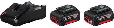 Bosch 2xGBA 18V 4.0Ah + GAL 18V-40