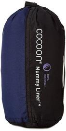Miegmaišis Cocoon Mummy Liner Microfiber Blue