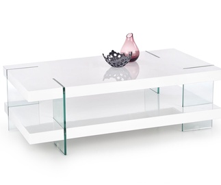 Kavos staliukas Infero baltas, 120 x 60 x 38 cm