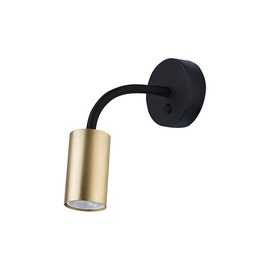GAISMEKLIS EYE FLEX BRASS 9067 LED, GU10, 10W