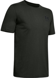 Under Armour Mens Sportstyle LC Back T-Shirt 1347880-310 Green M