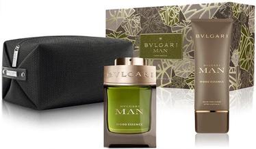 Набор для мужчин Bvlgari Man Wood Neroli 100 ml EDP + 100 ml Aftershave Balm + Cosmetic Bag