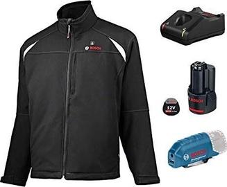 Bosch GHJ 12+18V Unisex Heated Jacket 3XL Black