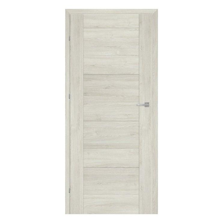 Vidaus durų varčia Alvaro, pilko ąžuolo, kairinė, 203.5x84.4 cm