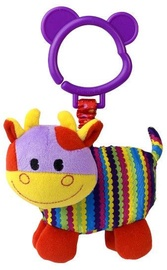 Игрушка для коляски Gerardos Toys Milo Squeaky Cow, многоцветный