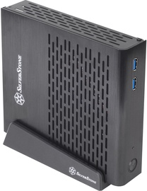 SilverStone Petit PT13 USB 3.0 Thin Mini-ITX Black