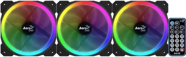 Aerocool Orbit RC 3x 120x120x25 RGB + Remote