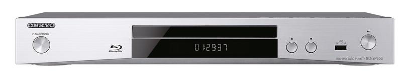Onkyo BD-SP353S Blu-Ray Disk Player Silver