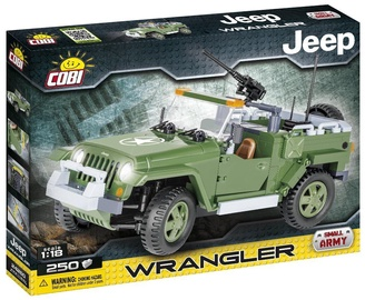 6139d44437c Cobi Small Army Jeep Wrangler 24260