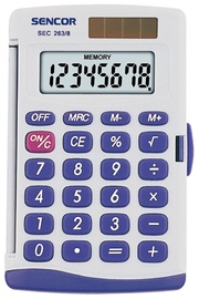 Sencor Handheld Calculator SEC 263/8