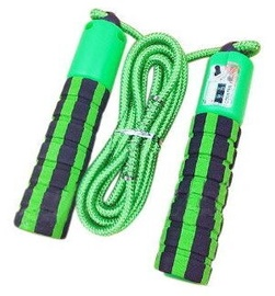 TakeMe Skipping Rope With Jump Counter Green