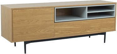 Home4you Delano TV Stand Oak/Grey