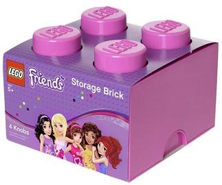 LEGO Storage Brick 4 Knobs Medium Friends