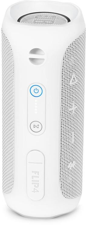 Belaidė kolonėlė JBL Flip 4 Bluetooth Speaker White