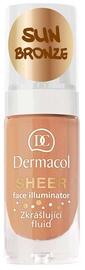 Dermacol Sheer Face Illuminator 15ml Sun Bronze