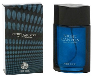Tualetes ūdens Real Time Night Canyon 100ml EDT