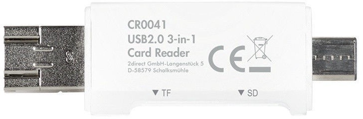 Logilink CR0041 3-in-1 USB 2.0