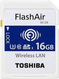 Toshiba 16GB FlashAir SD Card Class 10