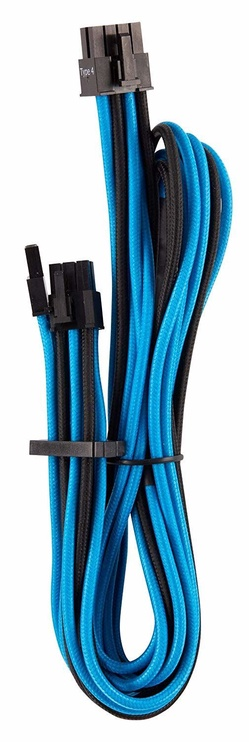 Corsair Premium Individually Sleeved PSU Cables Starter Kit Type 4 Gen 4 Blue/Black