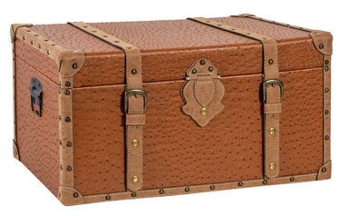 Home4you Chest Oskar 62x35x30cm Brown