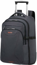 American Tourister At Work Laptop Backpack with Wheels 15.6 Grey Orange